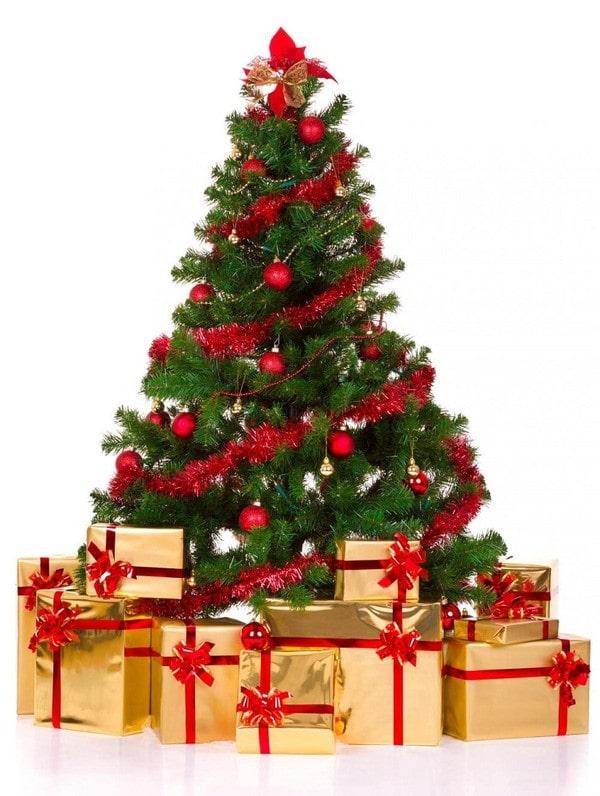 Cây thông Noel, quà Noel 2013, quà tặng cao cấp, Mạ vàng 2014