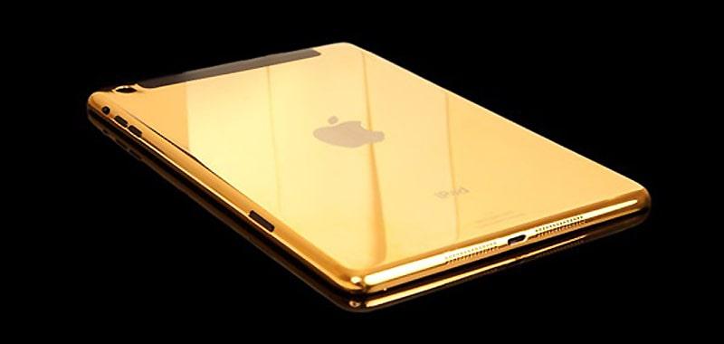 iPad mini mạ vàng 24k độc đáo và sang trọng nhất 2013