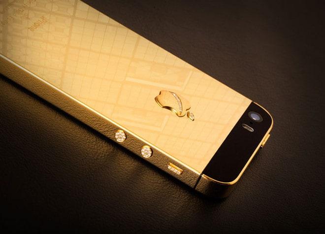 iPhone 5s đúc ngựa vàng 24k, Ma Vang doc dao 2014
