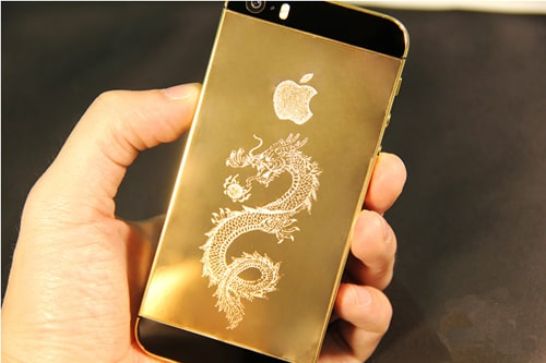 iPhone 5S,  mạ vàng 24k, iphone 5s mạ vàng, mạ vàng iphone 5