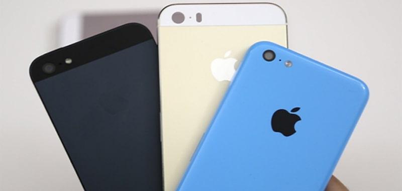 iphone 5S và 5C mạ vàng độc đáo