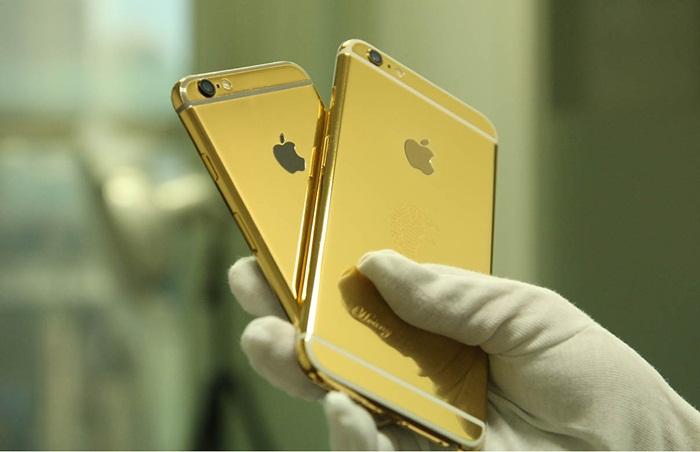 iPhone 6 mạ vàng