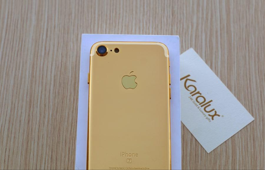 Karalux chính thức công bố giá bán iphone 7 và iphone 7 plus mạ vàng 24K