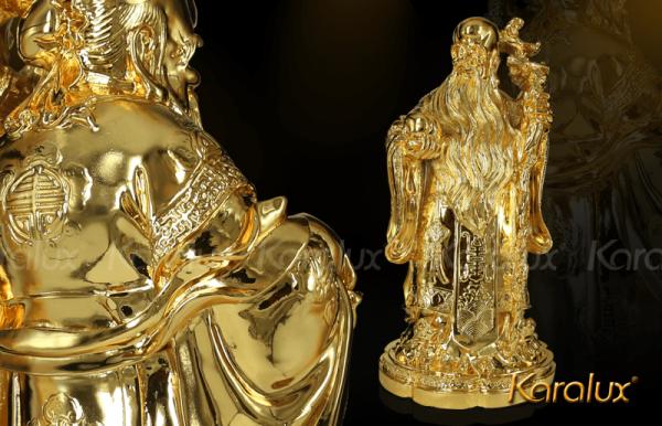 Tượng tam đa mạ vàng 1