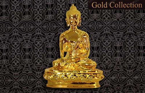 Tượng Phật Thích Ca mạ vàng, loại lớn – TTL-0010-C25