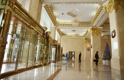 Grand Plaza mạ vàng cao cấp và sang trọng