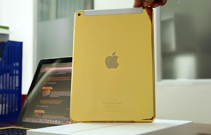 iPad mini được mạ vàng cao cấp
