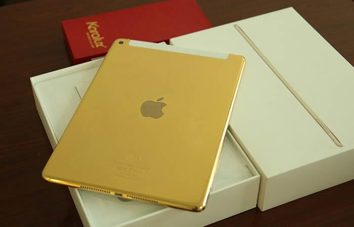 Máy tính bảng iPad mini mạ vàng
