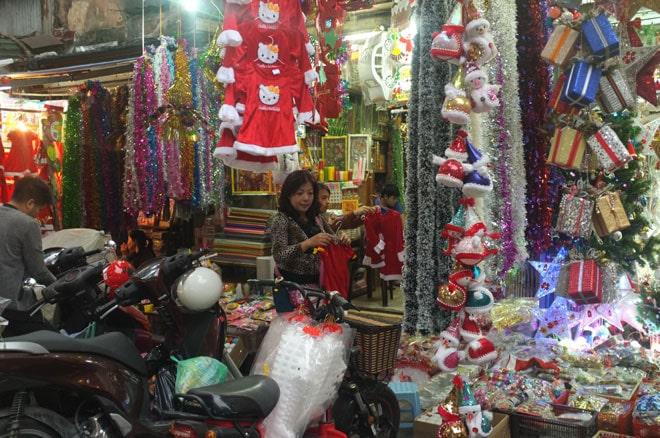 Quà Noel 2013 tràn ngập thị trường