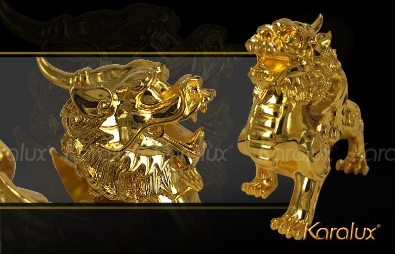 Tỳ Hưu mạ vàng - Quà tặng Tân Gia cao cấp