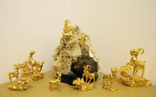 Dê phogn thủy mạ vàng 24k độc đáo