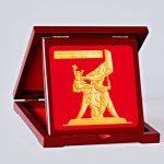 Lộc kim - Tượng đài Điện Biên Phủ được mạ vàng