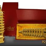 Tháp Văn Xương đúc đồng mạ vàng - MHK-0011-C18 6