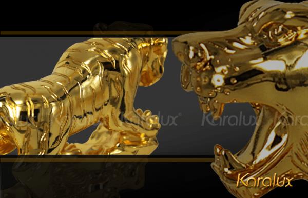 Hổ phong thủy mạ vàng cao cấp - TLV-DAN1-C12 1