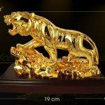 Hổ phong thủy mạ vàng cao cấp - TLV-DAN1-C12 6