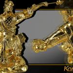 Tượng Quan Công mạ vàng cầu tài hóa sát 4