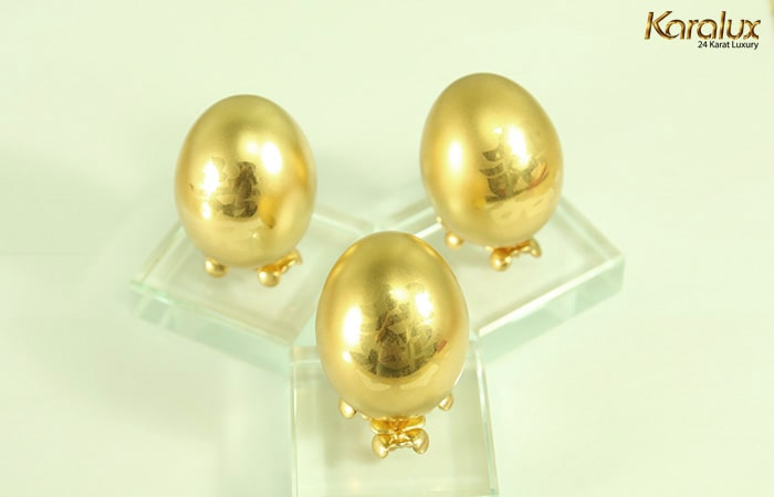 Trứng Vàng – Biểu Tượng May Mắn