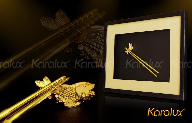Tranh đôi đũa vàng Karalux 5