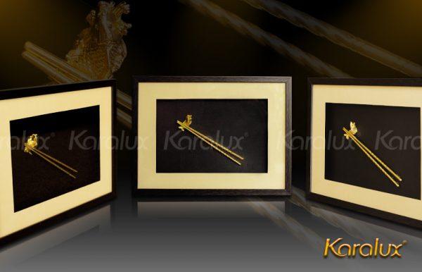 Tranh đôi đũa vàng Karalux 2
