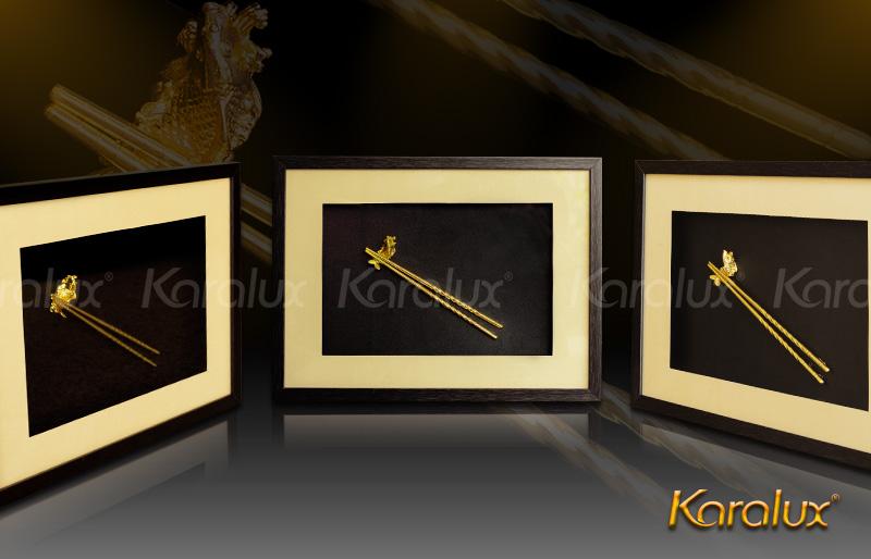 Tranh đôi đũa vàng Karalux 6