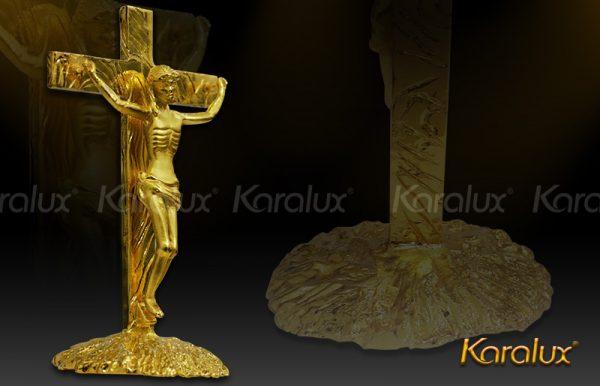 Tượng chúa giê su mạ vàng 1