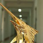 Cá Kiếm phong thủy mạ vàng 6