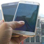 Bộ đôiSamsung Galaxy S6 và Edge mạ vàng đầu tiên trên thế giới bởi Karalux