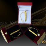 Kẹp cà vạt cao cấp mạ vàng - VDK-0004 4