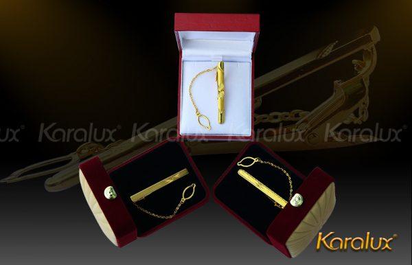 Kẹp cà vạt cao cấp mạ vàng - VDK-0004 2