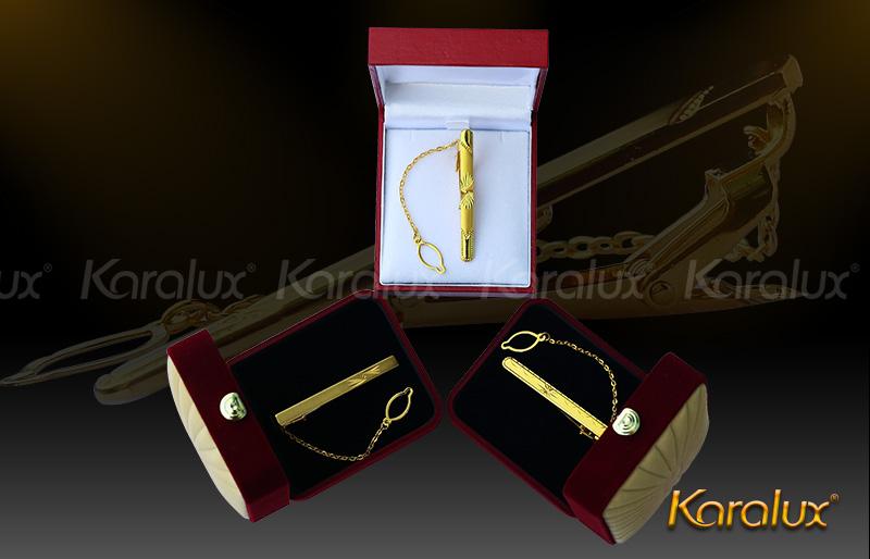 Kẹp cà vạt cao cấp mạ vàng - VDK-0004 10