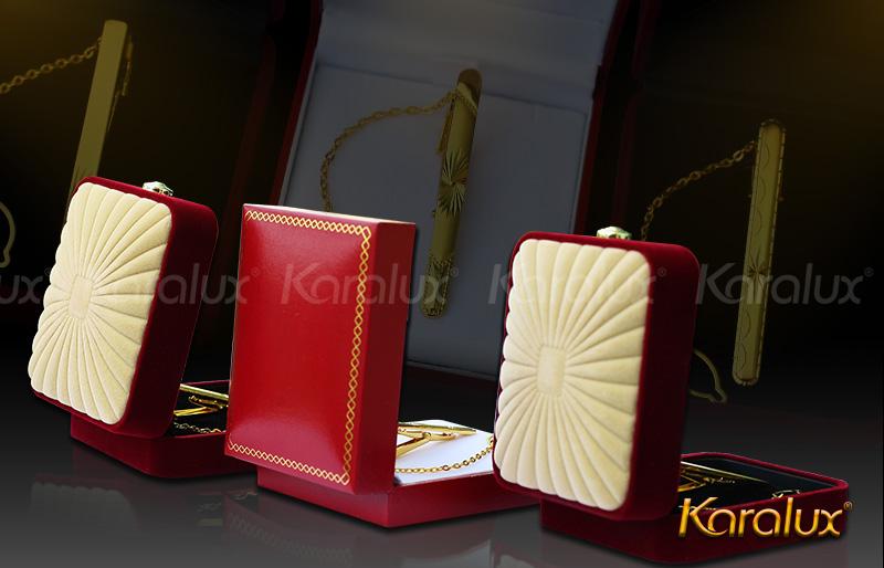 Kẹp cà vạt cao cấp mạ vàng - VDK-0004 12