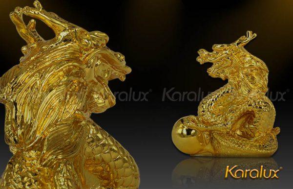 Rồng phong thủy mạ vàng trừ kẻ tiểu nhân 1