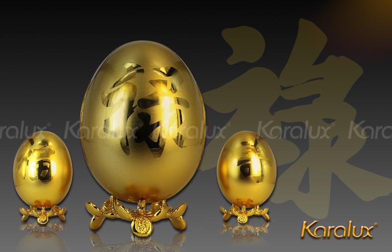 Trứng vàng may mắn nảy lộc - DPT-0002-F3 9