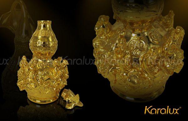 Hồ lô bát tiên mạ vàng đem lại may mắn - DPT-0001-C21 1