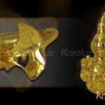 Hồ lô bát tiên mạ vàng đem lại may mắn - DPT-0001-C21 6