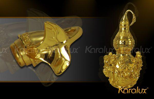 Hồ lô bát tiên mạ vàng đem lại may mắn - DPT-0001-C21 3