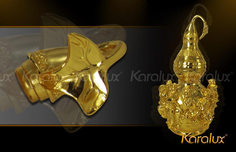 Hồ lô bát tiên mạ vàng đem lại may mắn - DPT-0001-C21 11