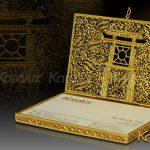 Hộp danh thiếp Khuê Văn Các mạ vàng 4