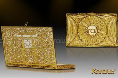 Tranh Khuê Văn Các mạ vàng phiên bản để bàn 15
