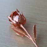 Bông hồng mạ vàng hồng độc đáo 6