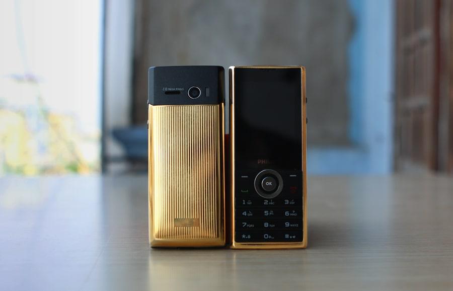 philips x513 mạ vàng đầu tiên tại Việt Nam bởi Karalux