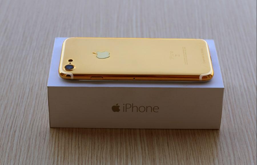 iphone 7 mạ vàng 24K