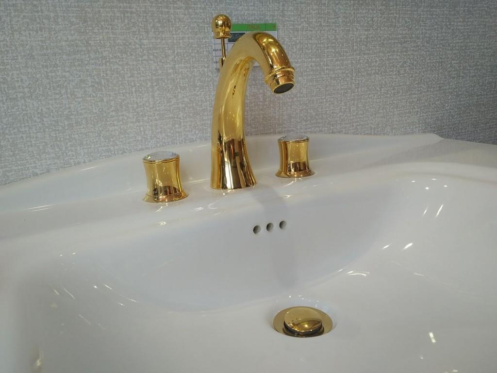 Thiết bị phòng tắm mạ vàng lên ngôi tại hội chợ Vietbuild 2017 3
