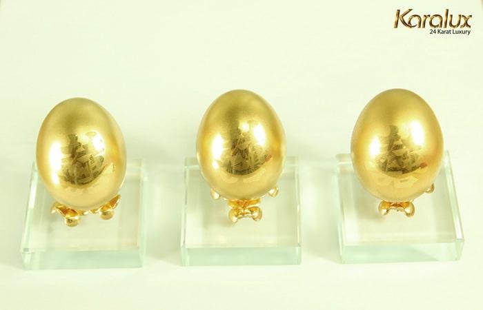 Quả trứng vàng – biểu tượng may mắn