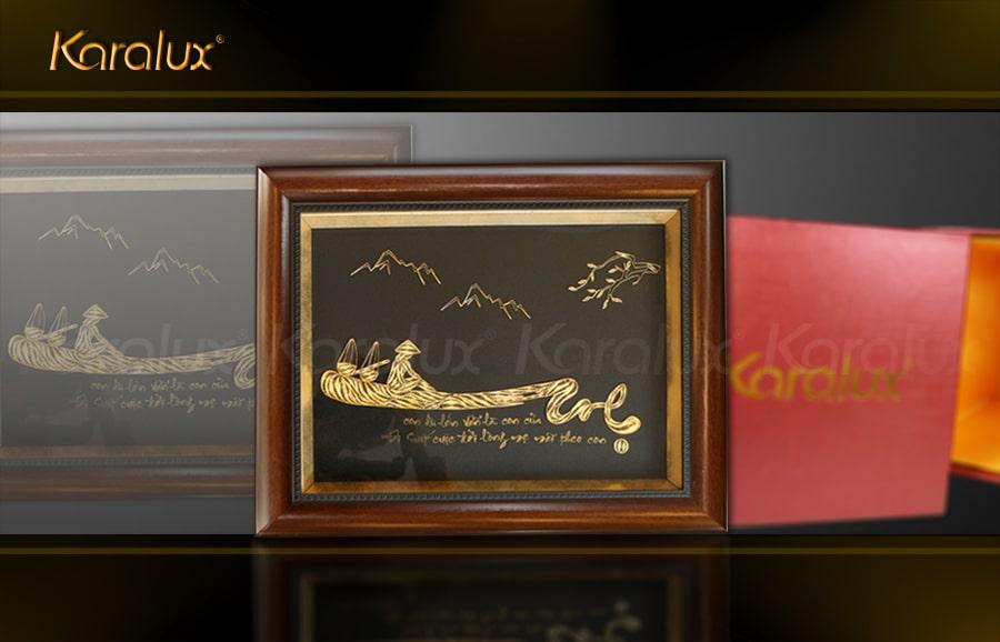 Tranh chữ Mẹ mạ vàng – TRC-0005-3545