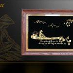 Tranh chữ Mẹ mạ vàng Karalux: Quà mừng thọ mẹ độc đáo, sang trọng 3