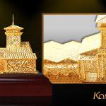 Mô hình chợ Bến Thành mạ vàng bởi Karalux 6