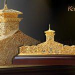 Mô hình chợ Bến Thành mạ vàng bởi Karalux 4