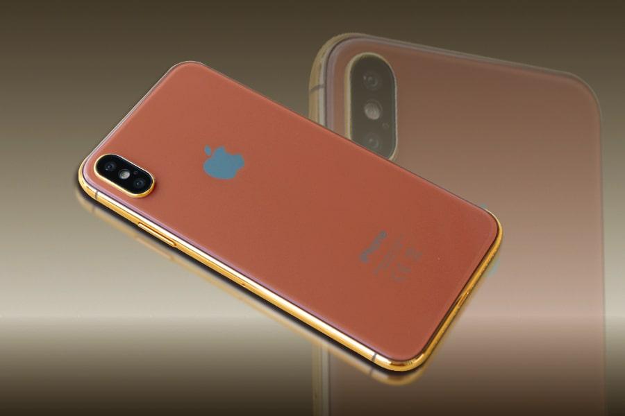 iPhone 8 dự kiến sẽ có 3 màu, ngoài 2 màu truyền thống là Trắng và Đen sẽ có thêm màu Cá hồi