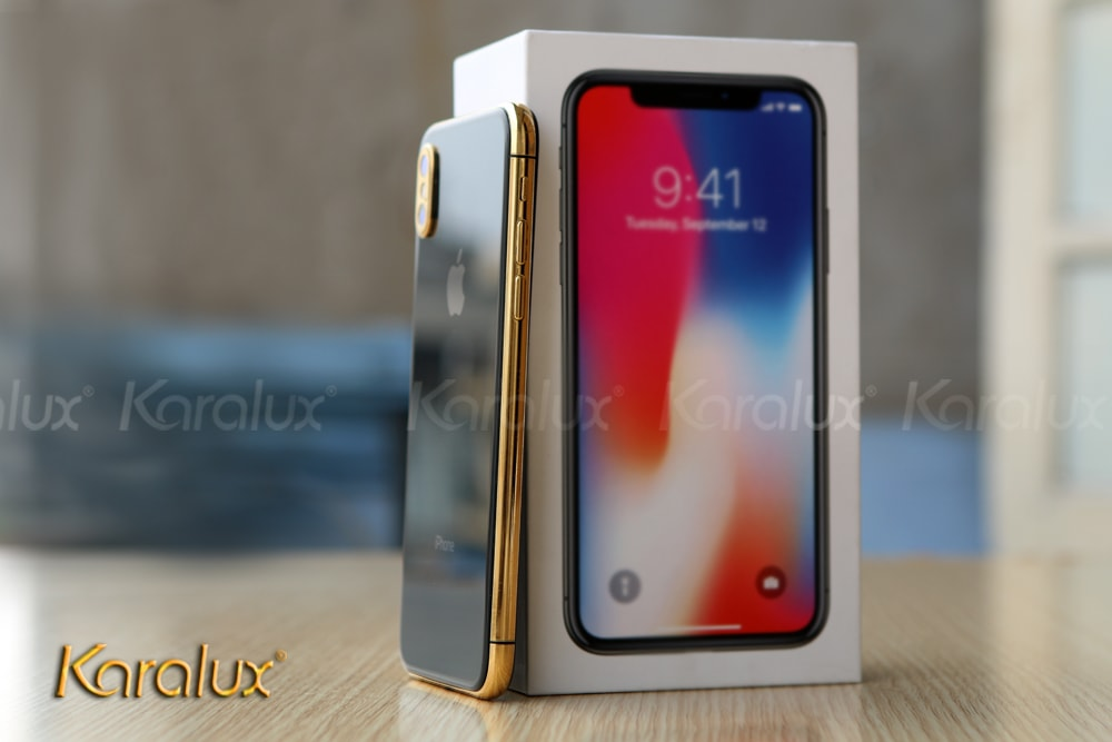 iPhone X 256Gb mạ vàng